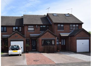 Thumbnail 3 bed town house for sale in Station Road Miles Green, Stoke On Trent