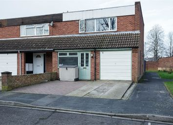 Thumbnail 3 bed semi-detached house for sale in De Lisle Close, Portsmouth, Hampshire