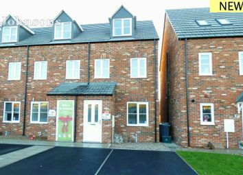 Thumbnail 3 bed end terrace house for sale in Cammidge Way, Bessacarr, Doncaster.