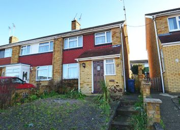 Thumbnail 3 bed end terrace house for sale in Woodberry Drive, Sittingbourne