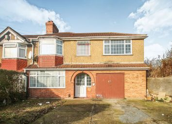 Thumbnail 4 bed terraced house to rent in Girton Road, Northolt