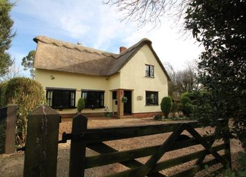 Thumbnail 3 bedroom detached house for sale in Ely Road, Witchford, Ely