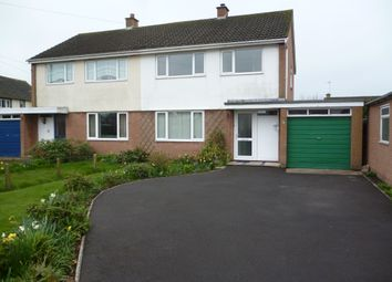Thumbnail 3 bed semi-detached house to rent in Netherby Road, Longtown, Carlisle