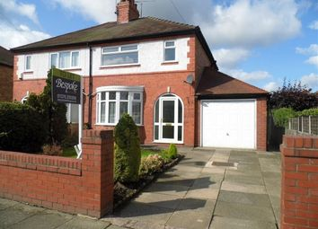 Thumbnail 3 bed semi-detached house to rent in Empress Drive, Crewe