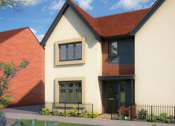 "Thumbnail 3 bed semi-detached house for sale in ""The Cypress"" at Shorthorn Drive, Whitehouse, Milton Keynes"