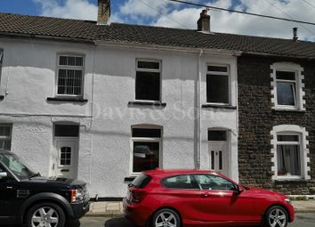 Thumbnail 3 bed terraced house for sale in Crown Street, Crumlin, Newport.