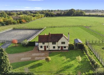 Bennetts Lane, North End, Dunmow, Essex CM6. 4 bed equestrian property for sale