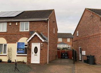 Thumbnail 2 bed semi-detached house to rent in Skeldale Grove, Darlington