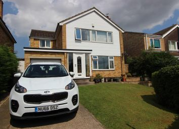 Thumbnail 4 bed detached house for sale in Westwood Avenue, Heighington Village, Newton Aycliffe