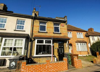 Thumbnail 2 bed end terrace house for sale in Grove Road, London