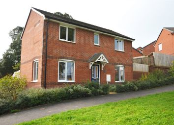 Thumbnail 3 bed detached house for sale in Tomswell Drive, Tiverton, Devon