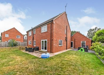 Thumbnail 4 bed detached house for sale in Onedin Close, Dersingham, King's Lynn