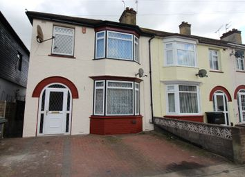 Thumbnail 3 bedroom end terrace house to rent in Gouge Avenue, Northfleet, Gravesend, Kent