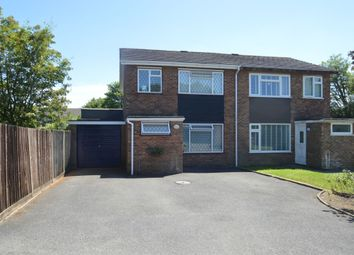 Thumbnail 4 bed semi-detached house for sale in Lowfield Way, Hazlemere, High Wycombe