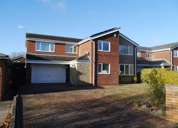 Thumbnail 5 bed detached house for sale in Ideal Family House Richmond Way, Barns Park, Cramlington