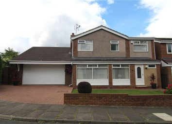 Thumbnail 4 bed detached house for sale in Middleham Road, Durham, Durham