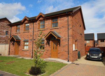 Thumbnail 3 bed semi-detached house for sale in St. Andrews Park, Ballyhalbert, Newtownards
