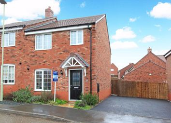 Thumbnail 3 bedroom semi-detached house to rent in Haycop Rise, Broseley