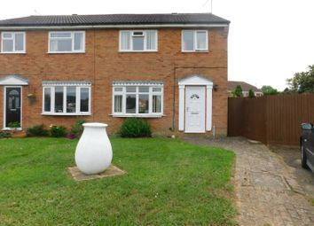 Thumbnail 3 bed semi-detached house for sale in Masefield Road, Stowmarket