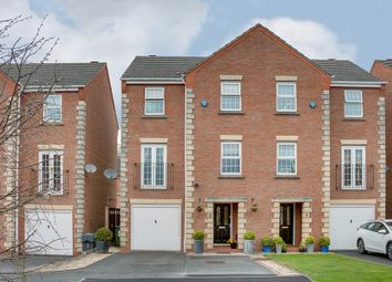 Thumbnail 4 bed terraced house for sale in Grove Gardens, Woodland Grange, Bromsgrove