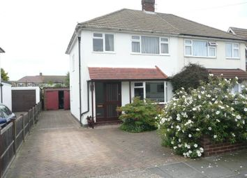 Thumbnail 3 bed semi-detached house to rent in Ringwood Way, Hampton Hill, Hampton