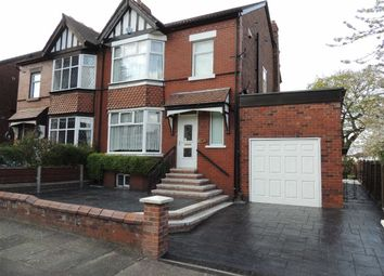 Thumbnail 3 bed semi-detached house for sale in Wellfield Road, Offerton, Stockport