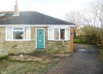 Thumbnail 2 bed semi-detached bungalow for sale in Springfield Close, Clayton West, Huddersfield, West Yorkshire