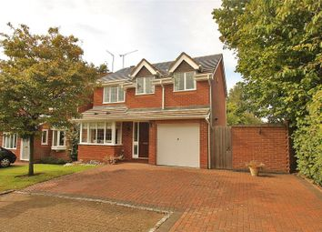 Thumbnail 4 bed detached house to rent in Prunus Close, West End, Woking