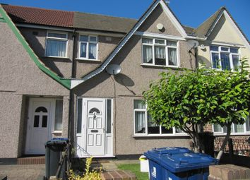 Thumbnail 3 bed terraced house for sale in Rothesay Avenue, Greenford