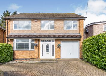 Thumbnail 5 bed detached house for sale in Waldron Drive, Oadby, Leicester