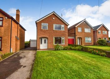 Thumbnail 3 bed detached house for sale in Howard Drive, North Wingfield, Chesterfield