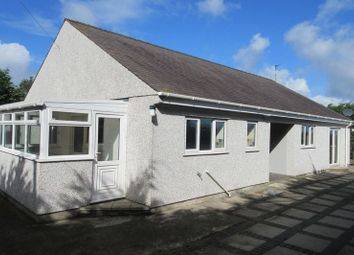 Thumbnail 2 bed detached bungalow to rent in Cemaes Bay