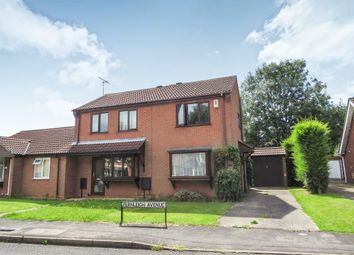 Thumbnail 2 bed semi-detached house for sale in Fernleigh Avenue, Bracebridge Heath, Lincoln