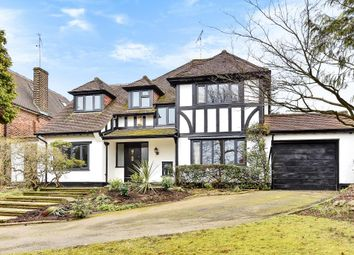 Thumbnail 5 bed detached house to rent in Lancaster Avenue, Hadley Wood
