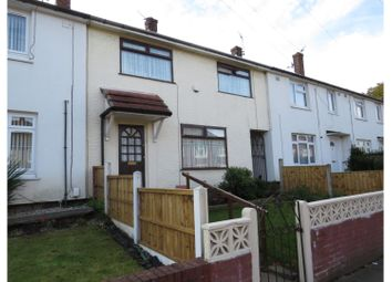 Thumbnail 4 bed terraced house for sale in Musker Drive, Bootle