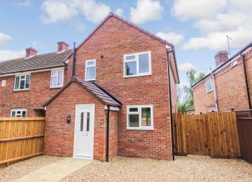 Thumbnail 3 bedroom end terrace house for sale in Church Street, Holme, Peterborough, Huntingdonshire