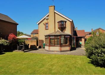 Thumbnail 4 bed detached house for sale in Mill Drive, Ratby, Leicester