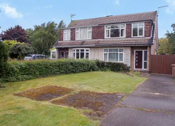 Thumbnail 3 bed semi-detached house for sale in Draycott Road, Long Eaton, Nottingham