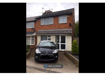 Thumbnail 3 bedroom end terrace house to rent in Estoril Avenue, Wigston