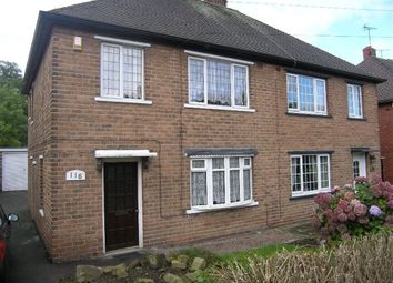 Thumbnail 3 bed semi-detached house to rent in Richmond Park Crescent, Sheffield