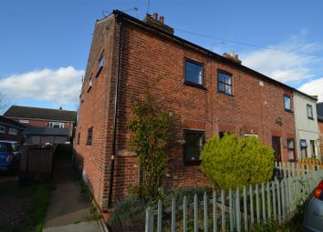 Thumbnail 2 bed end terrace house to rent in The Street, Norton Subcourse, Norwich