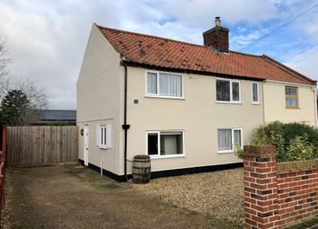 Thumbnail 2 bed semi-detached house for sale in Loddon Road, Ditchingham, Bungay