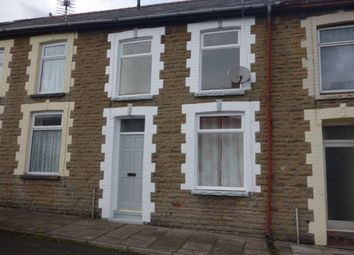 Thumbnail 2 bed terraced house to rent in Vicarage Terrace, Cwmparc