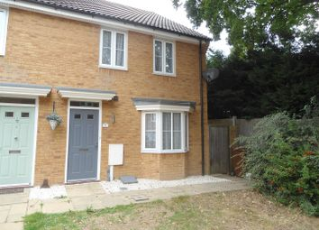 Thumbnail 3 bed end terrace house to rent in Searchlight Heights, Chattenden, Rochester