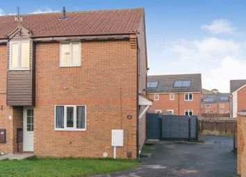 Thumbnail 2 bedroom end terrace house for sale in Cardinal Hinsley Close, Newark