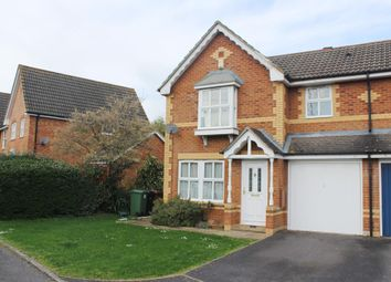 Thumbnail 3 bed end terrace house to rent in Didcot, Oxfordshire