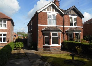 Thumbnail 2 bed semi-detached house to rent in South Avenue, Chellaston, Derby