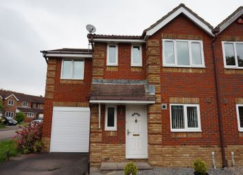 Thumbnail 4 bed semi-detached house for sale in Barley Drive, Burgess Hill