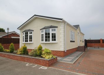 Thumbnail 2 bed bungalow for sale in Durham Residential Park, West Sherburn, Durham