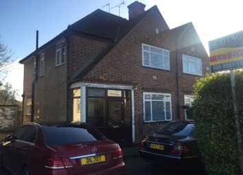 Thumbnail 3 bed semi-detached house to rent in Station Road, Hayes
